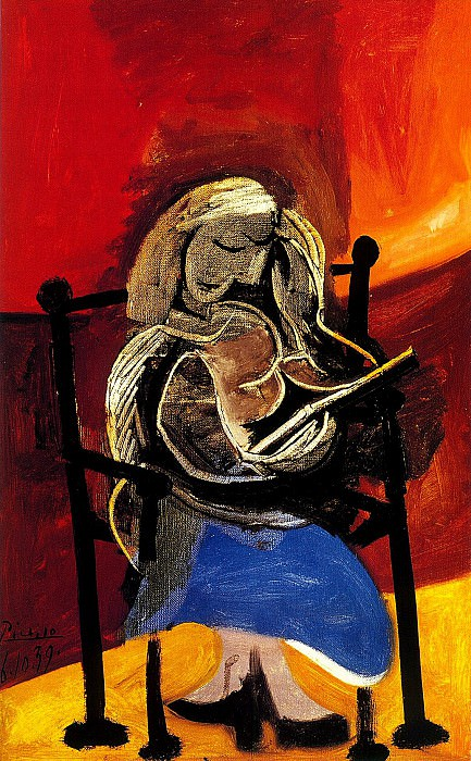 1939 Femme lisant. Pablo Picasso (1881-1973) Period of creation: 1931-1942