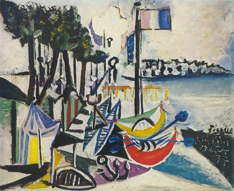 1937 Paysage de Juan-les-Pins. Pablo Picasso (1881-1973) Period of creation: 1931-1942