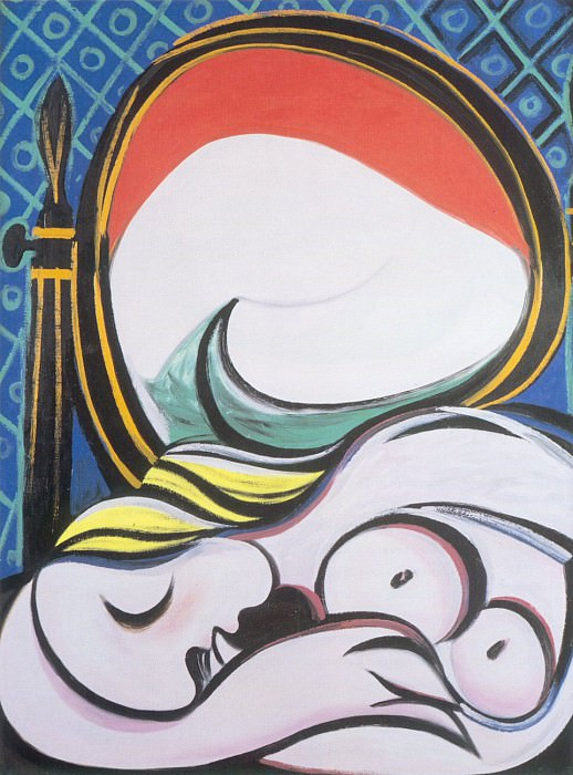 1932 Le miroir. Пабло Пикассо (1881-1973) Период: 1931-1942