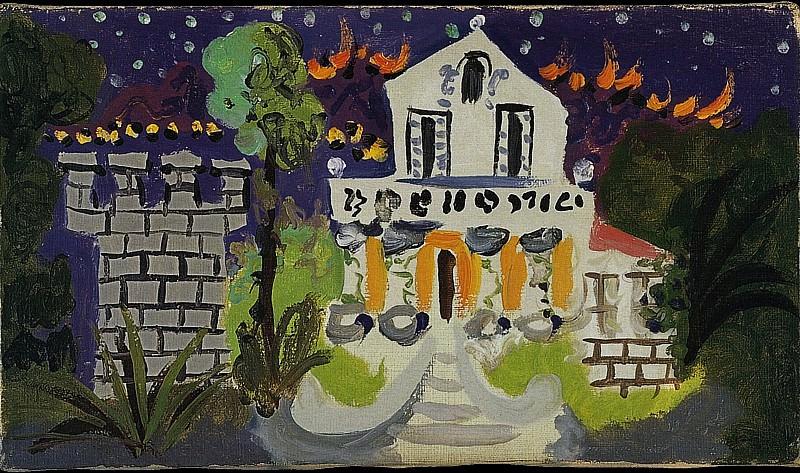 1931 Villa ChИne-Roc. Пабло Пикассо (1881-1973) Период: 1931-1942
