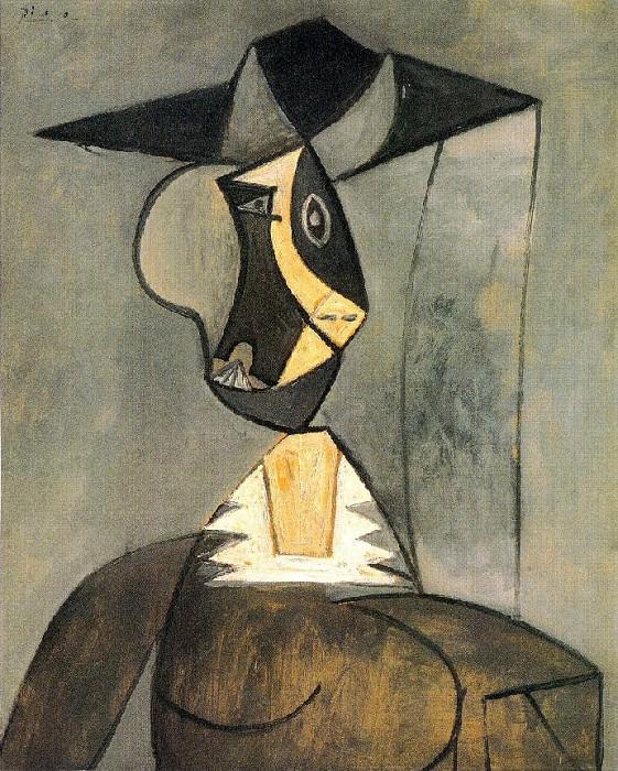 1942 Femme en gris. Pablo Picasso (1881-1973) Period of creation: 1931-1942