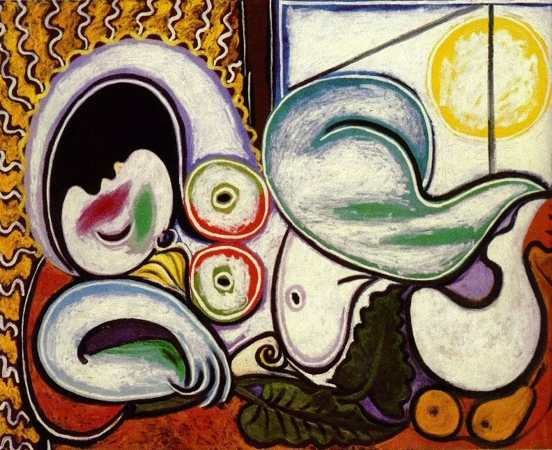 1932 Nu couchВ. Pablo Picasso (1881-1973) Period of creation: 1931-1942