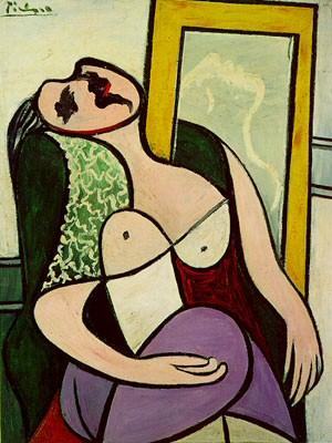 1932 La dormeuse au miroir (Marie -ThВrКse Walter). Pablo Picasso (1881-1973) Period of creation: 1931-1942