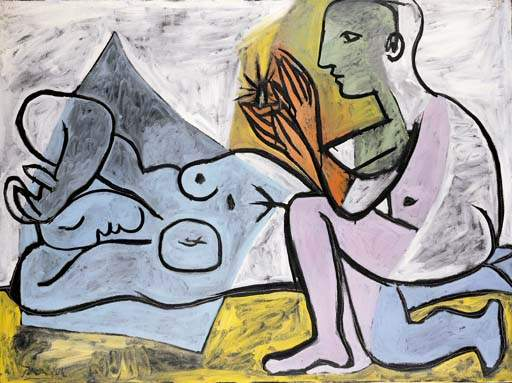 1932 Les amants. Pablo Picasso (1881-1973) Period of creation: 1931-1942