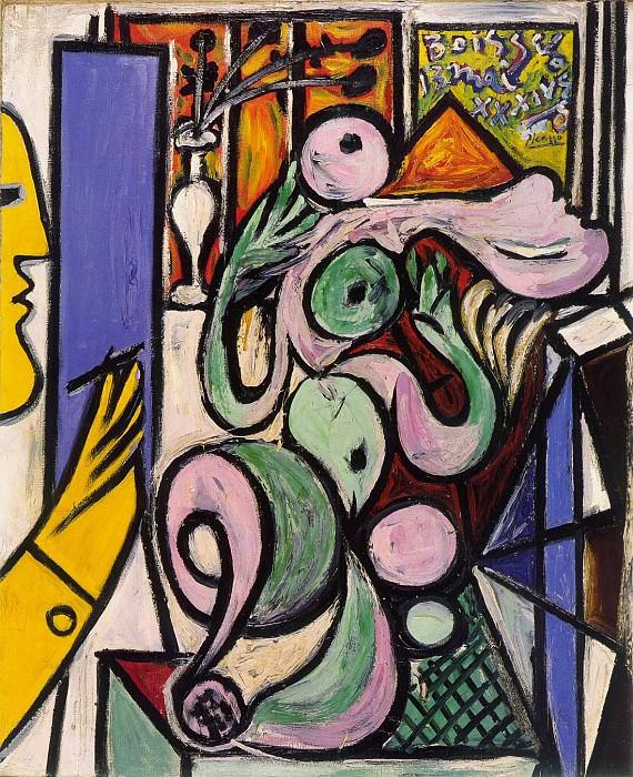 1934 Le peintre (Composition). Пабло Пикассо (1881-1973) Период: 1931-1942