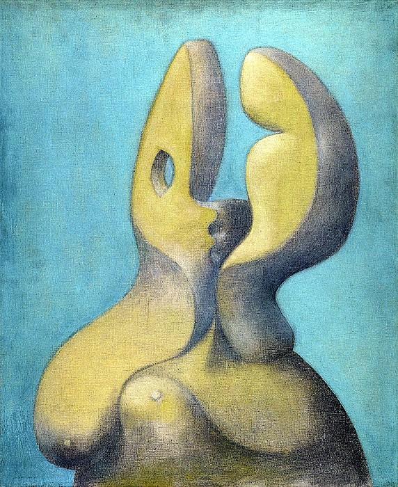 1931 Visage sculptural. Pablo Picasso (1881-1973) Period of creation: 1931-1942