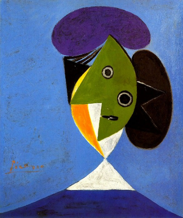 1935 Buste de femme. Pablo Picasso (1881-1973) Period of creation: 1931-1942