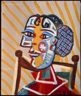 1938 Femme assise. Pablo Picasso (1881-1973) Period of creation: 1931-1942