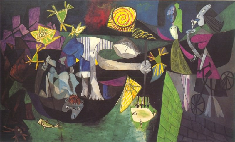 1939 PИche de nuit Е Antibes. Pablo Picasso (1881-1973) Period of creation: 1931-1942