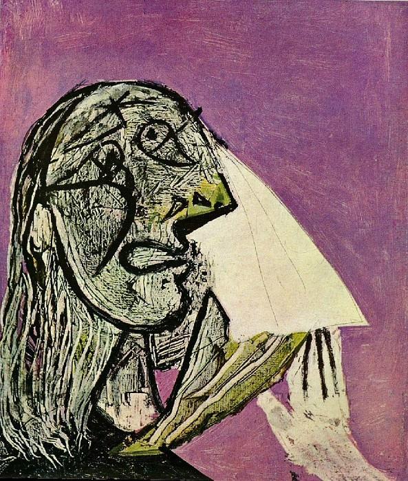 1937 La femme qui pleure 9. Pablo Picasso (1881-1973) Period of creation: 1931-1942