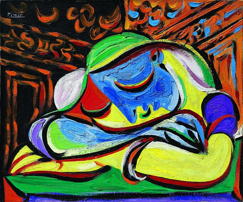 1935 Спящая девушка. Пабло Пикассо (1881-1973) Период: 1931-1942