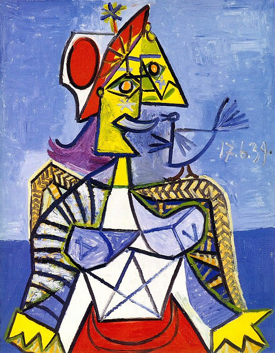1939 Femme assise. Pablo Picasso (1881-1973) Period of creation: 1931-1942