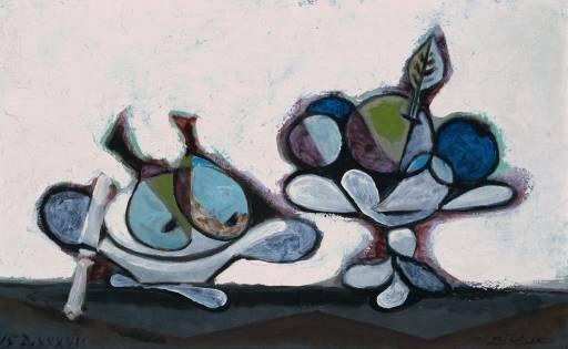 1936 Compotier de poires. Пабло Пикассо (1881-1973) Период: 1931-1942