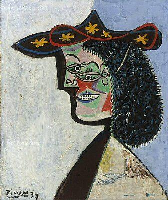 1937 Portrait de Nusch Eluard. Pablo Picasso (1881-1973) Period of creation: 1931-1942
