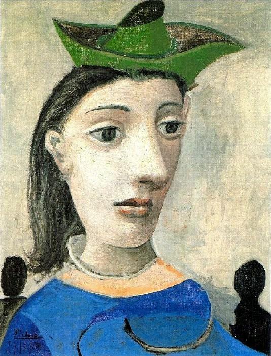 1939 Femme au chapeau vert. Pablo Picasso (1881-1973) Period of creation: 1931-1942