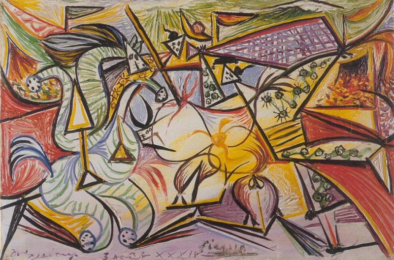 1934 Courses de taureaux (Corrida) 3. Пабло Пикассо (1881-1973) Период: 1931-1942