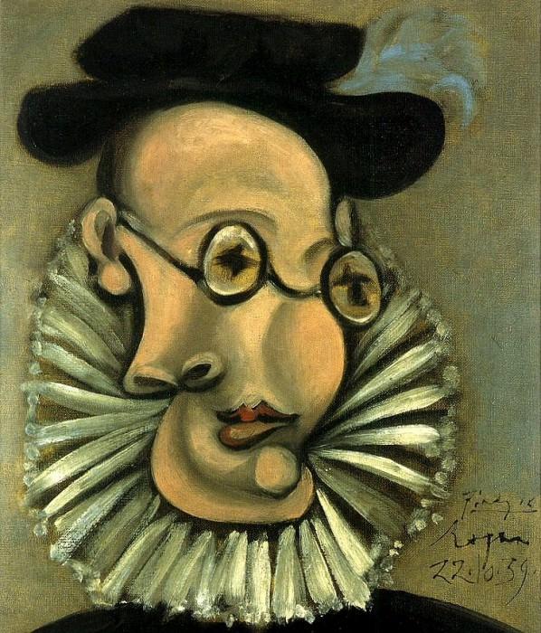 1939 Portrait de Jaime Sabartes en Grand dEspagne. Pablo Picasso (1881-1973) Period of creation: 1931-1942