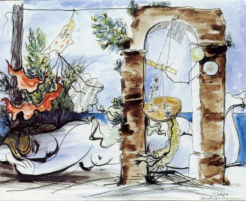 1933 Nu sur la plage. Pablo Picasso (1881-1973) Period of creation: 1931-1942