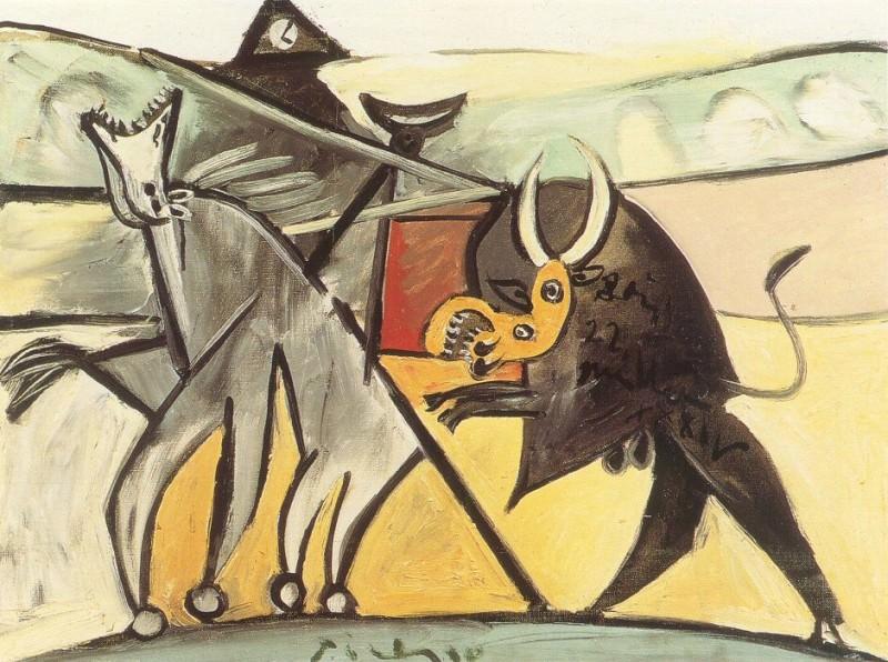 1934 Courses de taureaux (Corrida) 1. Pablo Picasso (1881-1973) Period of creation: 1931-1942
