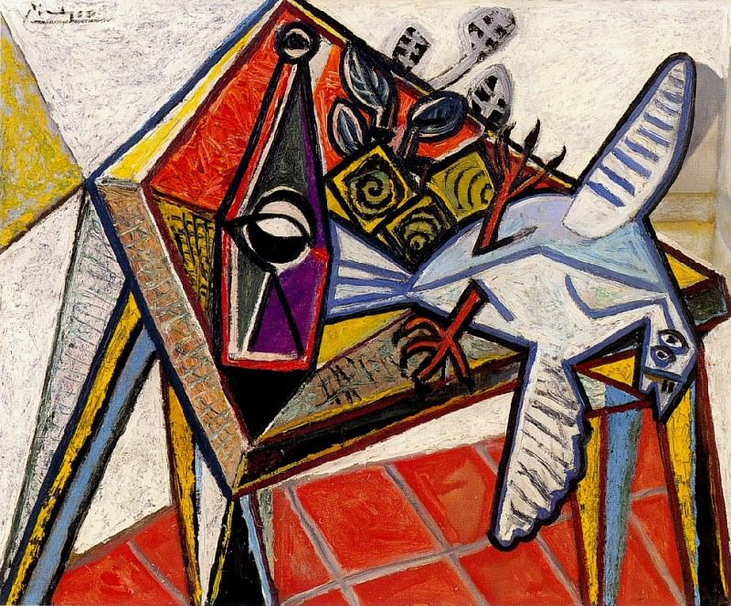 1941 Nature morte avec pigeon. Pablo Picasso (1881-1973) Period of creation: 1931-1942