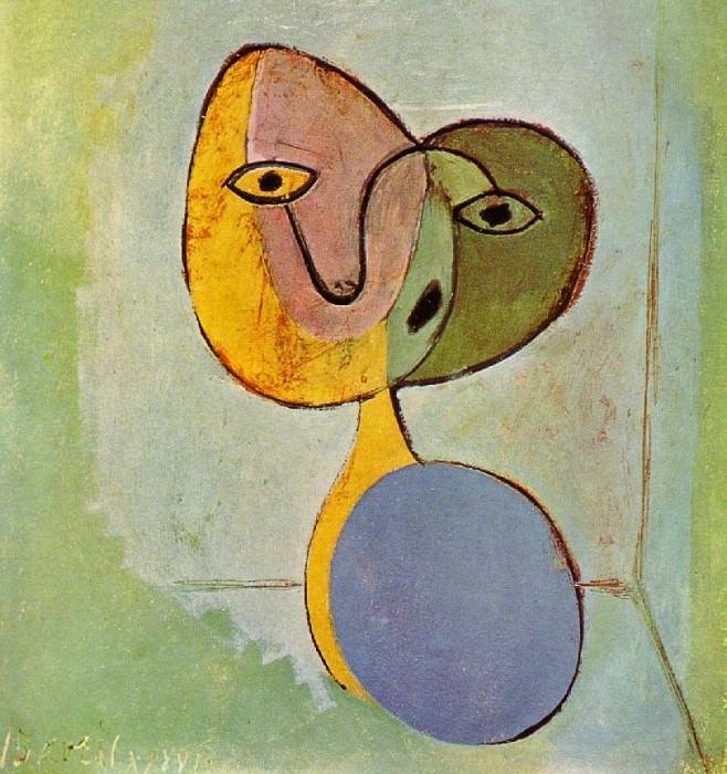 1936 Portrait de femme. Пабло Пикассо (1881-1973) Период: 1931-1942