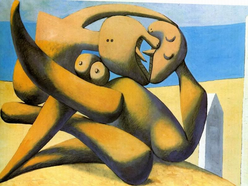 1931 Figures au bord de mer2. JPG. Пабло Пикассо (1881-1973) Период: 1931-1942