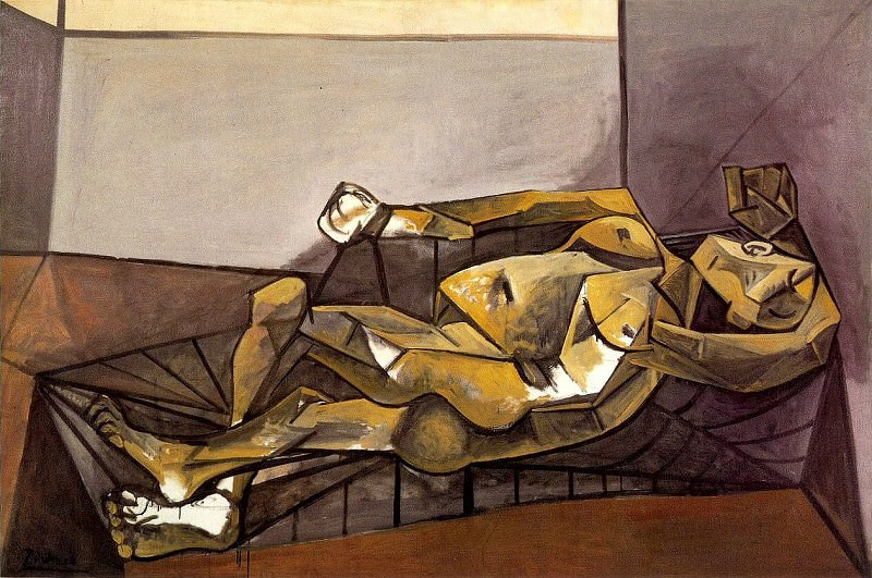 1942 Nu couchВ. Pablo Picasso (1881-1973) Period of creation: 1931-1942