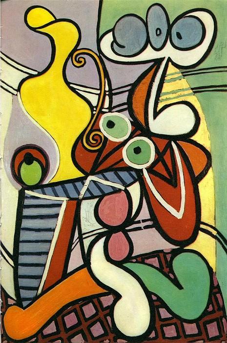1931 Grande nature morte au guВridon. Пабло Пикассо (1881-1973) Период: 1931-1942