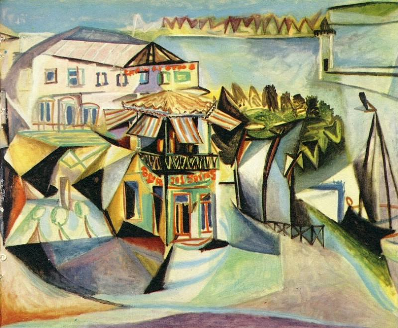 1940 CafВ Е Royan. Pablo Picasso (1881-1973) Period of creation: 1931-1942 (Le cafВ)
