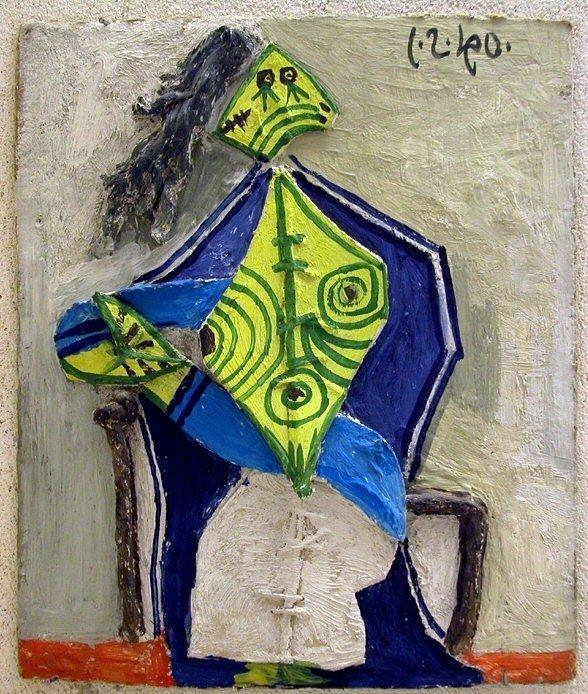 1940 Femme assise dans un fauteuil 1. Pablo Picasso (1881-1973) Period of creation: 1931-1942