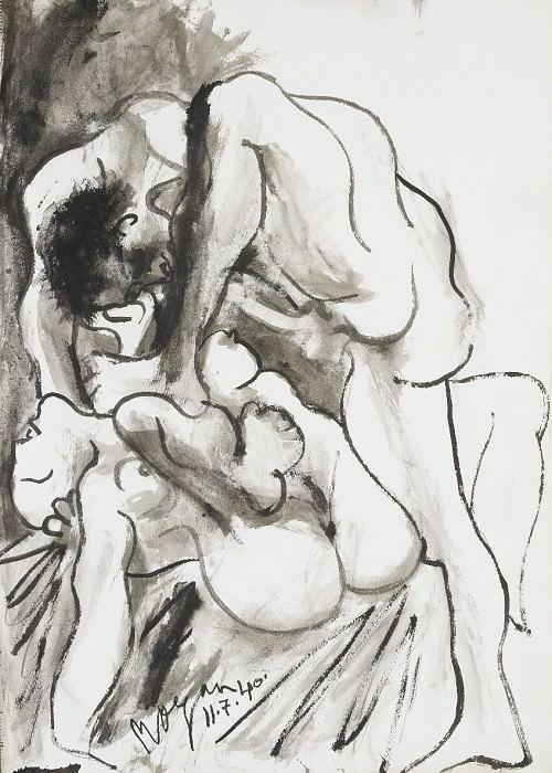 1940 Рtreinte. Pablo Picasso (1881-1973) Period of creation: 1931-1942