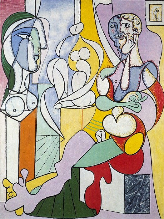 1931 Le sculpteur2. Pablo Picasso (1881-1973) Period of creation: 1931-1942
