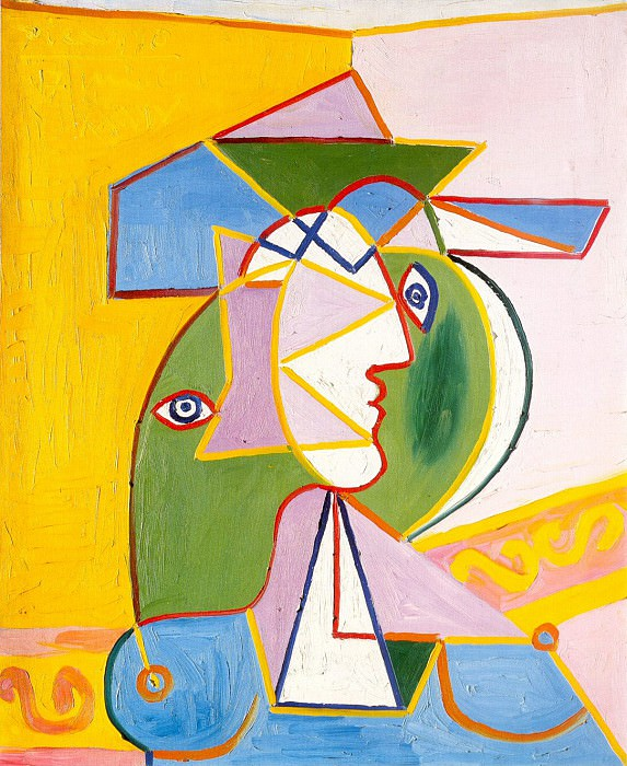 1934 Buste de femme. Пабло Пикассо (1881-1973) Период: 1931-1942