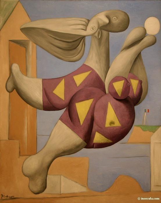 1932 Baigneur avec un ballon de plage. Пабло Пикассо (1881-1973) Период: 1931-1942