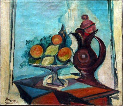 1937 Nature morte au pichet. Pablo Picasso (1881-1973) Period of creation: 1931-1942