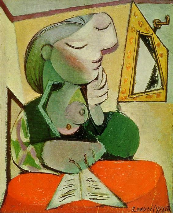1936 Portrait de femme (Femme lisant). Pablo Picasso (1881-1973) Period of creation: 1931-1942