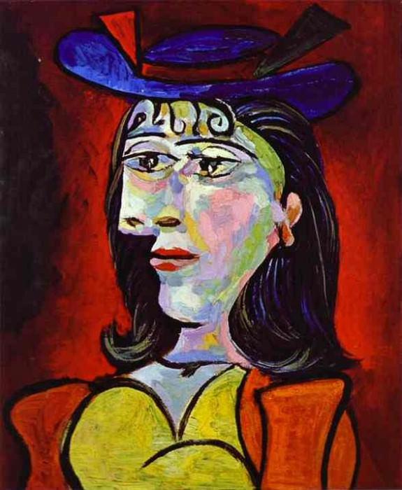 1938 Buste de femme (Dora Maar) 4. Pablo Picasso (1881-1973) Period of creation: 1931-1942