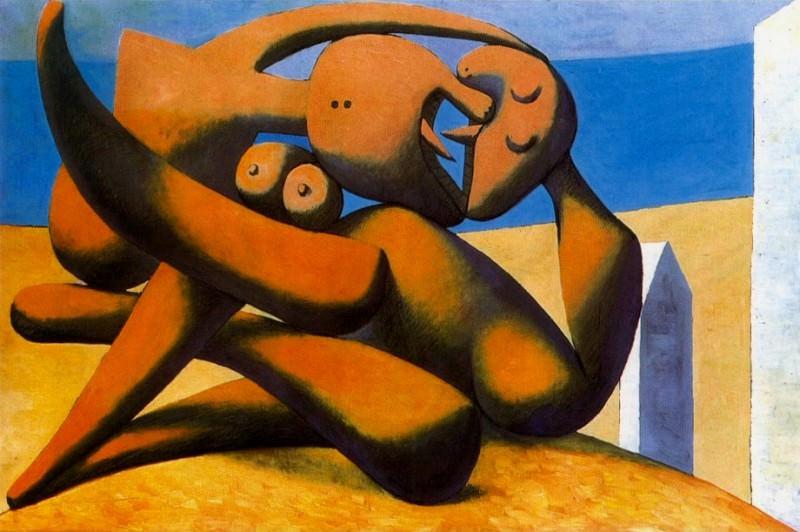 1931 Figures au bord de la mer. Pablo Picasso (1881-1973) Period of creation: 1931-1942