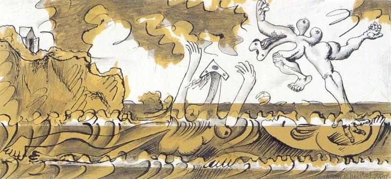 1934 Les baigneuses. Pablo Picasso (1881-1973) Period of creation: 1931-1942