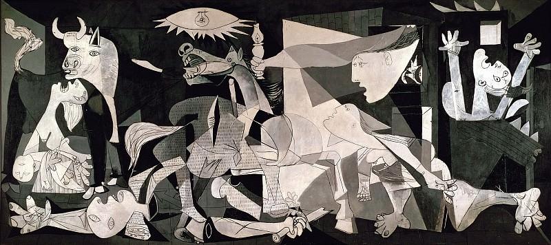 Герника. Пабло Пикассо (1881-1973) Период: 1931-1942