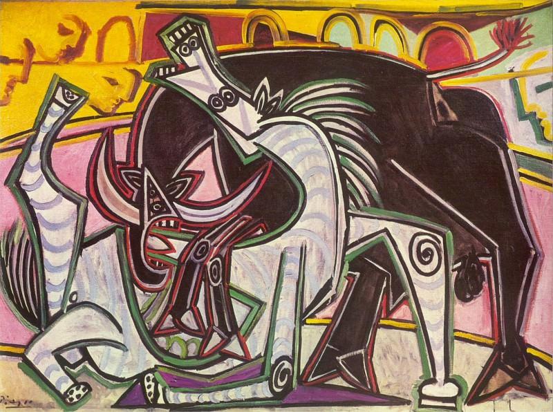 1934 Courses de taureaux (Corrida)1. Pablo Picasso (1881-1973) Period of creation: 1931-1942