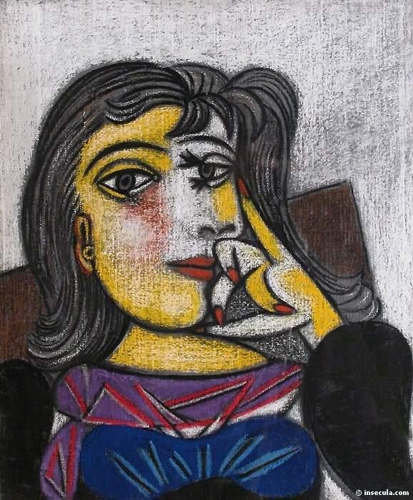 1937 Portrait de Dora Maar 6. Pablo Picasso (1881-1973) Period of creation: 1931-1942