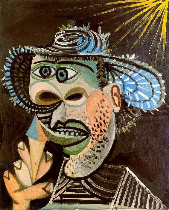 1938 Homme au cornet de glace 3. Pablo Picasso (1881-1973) Period of creation: 1931-1942
