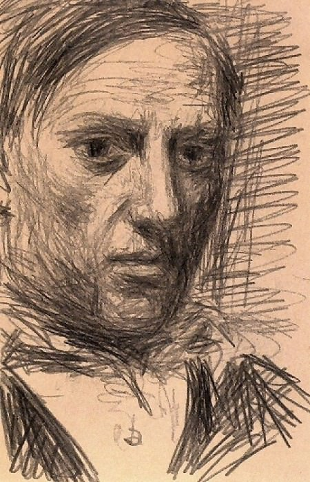 1940 Autoportrait 2. Pablo Picasso (1881-1973) Period of creation: 1931-1942