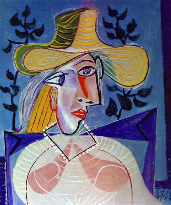 1938 Femme Е la collerette. Pablo Picasso (1881-1973) Period of creation: 1931-1942