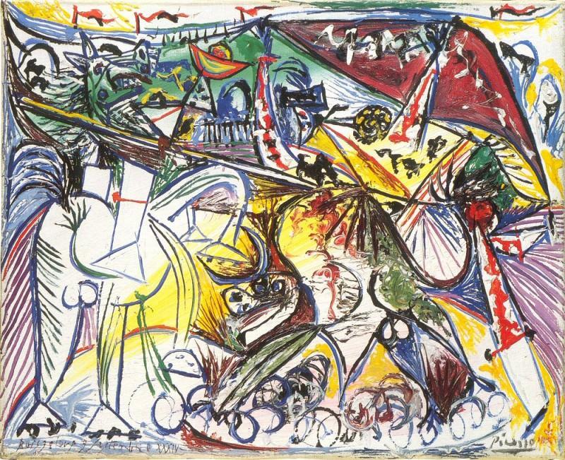 1934 Courses de taureaux (Corrida) 2. Пабло Пикассо (1881-1973) Период: 1931-1942