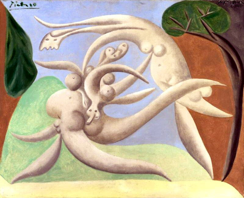 1934 Nus. Пабло Пикассо (1881-1973) Период: 1931-1942