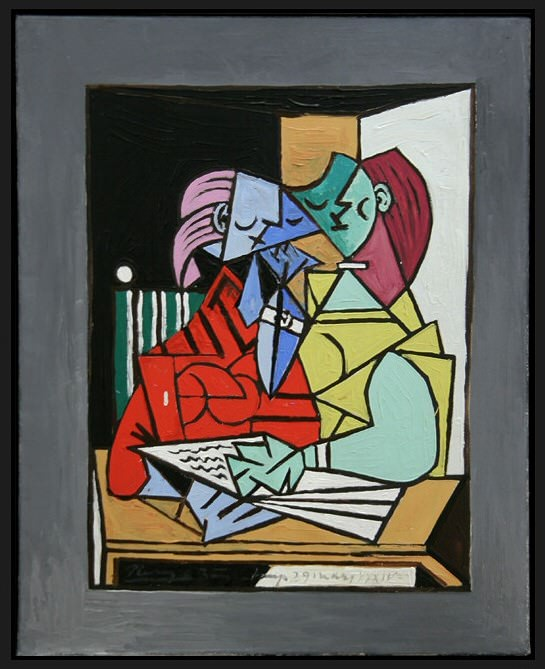 1934 Deux personnages 3. Pablo Picasso (1881-1973) Period of creation: 1931-1942