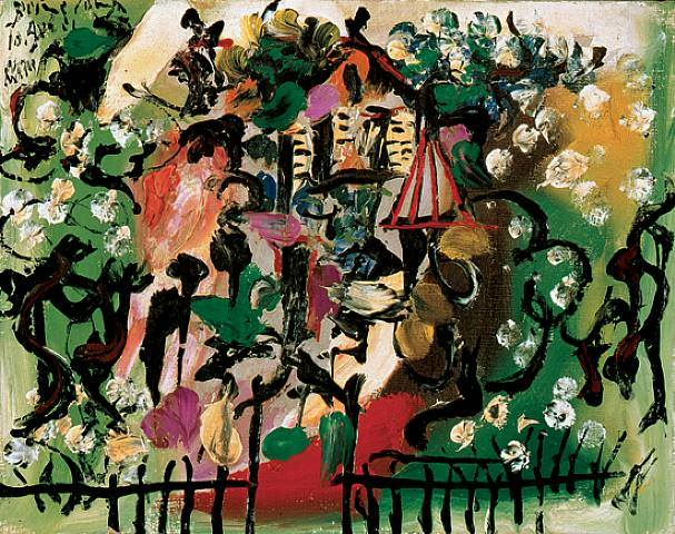1933 Paysage. Pablo Picasso (1881-1973) Period of creation: 1931-1942