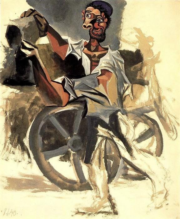 1940 LВboueur. Pablo Picasso (1881-1973) Period of creation: 1931-1942